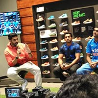 6f431e9ed973 Nike The world s leading athletic footwear and apparel maker Nike opened its  largest store in India in ...