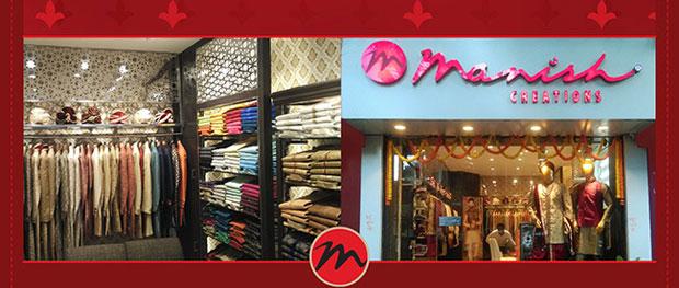Manish Creations New Store at Kolkata