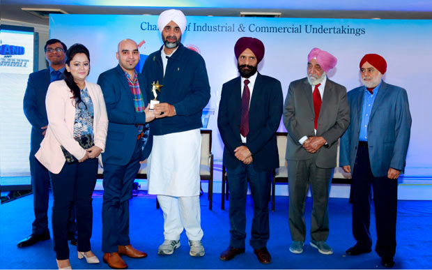 Duke Fashions Bagged CICU-Best Brand Award