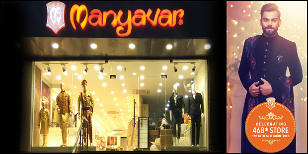 Manyavar Opens it 468th Celebration Wear Store in Alwar
