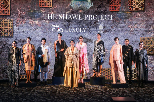 Tata CLiQ Luxury with The Shawl Project launches new Indi Luxe portfolio