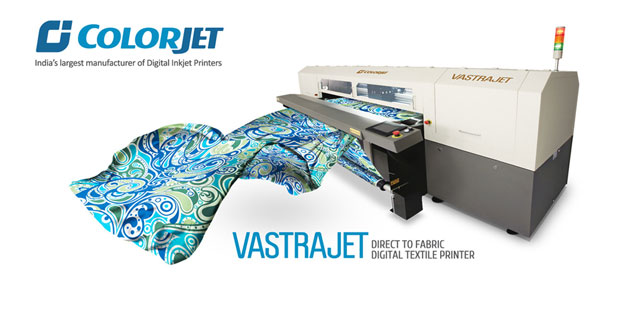 Digital textile printer VASTRAJET to be displayed at GARFAB-TX