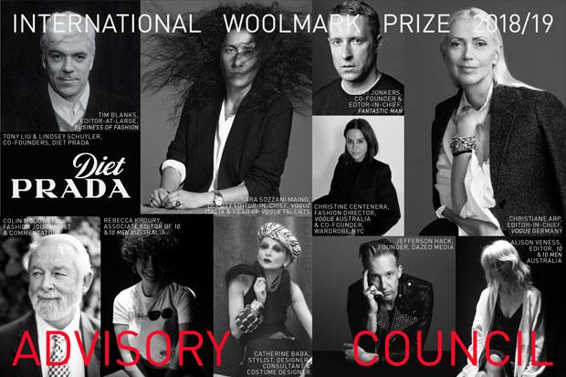 Int'l Woolmark Prize announces expert Advisory Council  & nominees