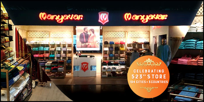 Manyavar Celebrates its 523rd Ethnic Store in Indore
