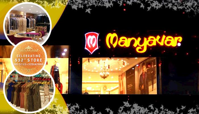 Manyavar Celebrates its 532nd Ethnic Store in UP
