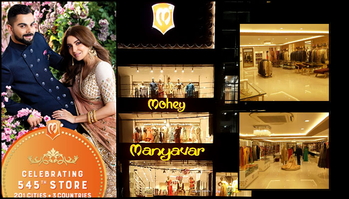 Ethnic Brand Manyavar & Mohey Opens its 545th store in UP