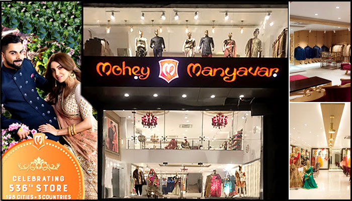 Manyavar & Mohey Celebrates 536th Store in Chattisgarh