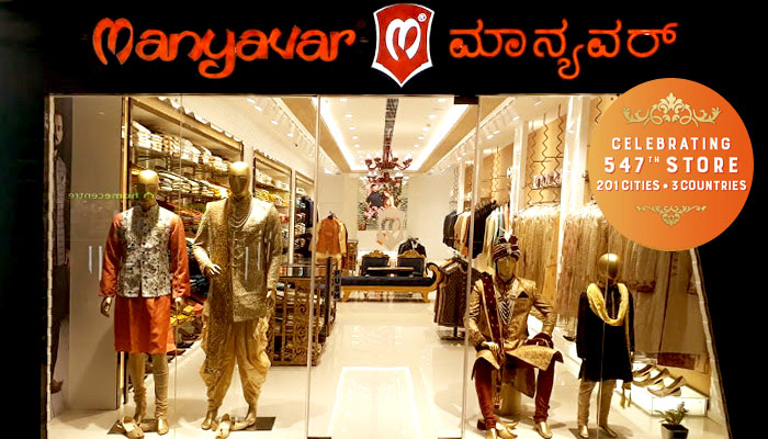 Manyavar Opens its 547th Ethnic Wear Store in Karnataka