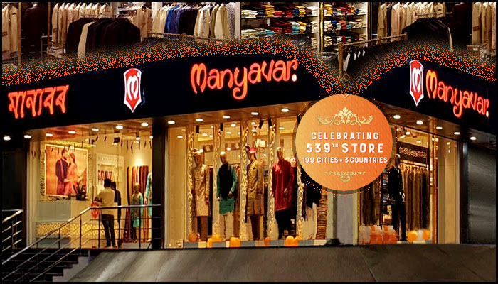 Manyavar celebrates its 539th ethnic store in Assam