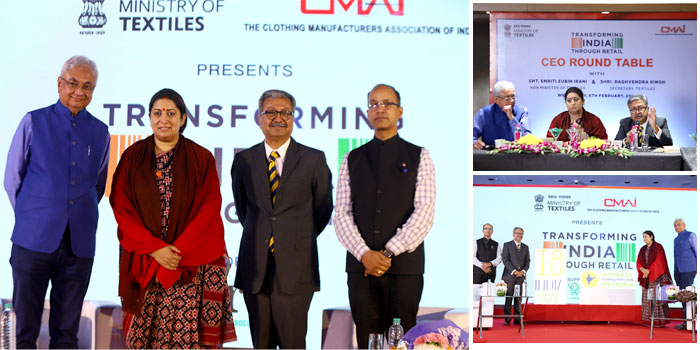 CMAI unveils the Logo for Size India launched by Irani