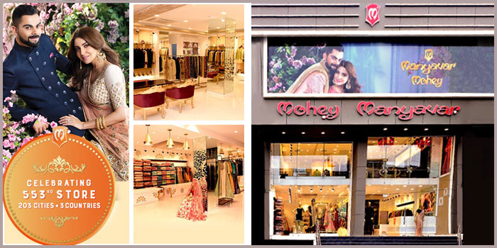 Manyavar & Mohey Celebrates its 553rd store in Chhattisgarh