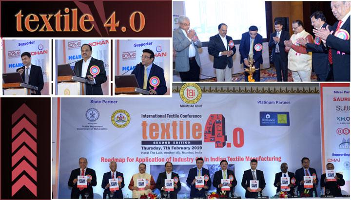 TAI, Mumbai Unit Conference Textile 4.0 Ends Successfully
