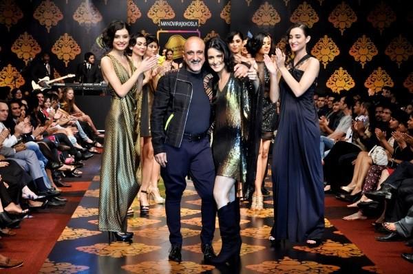 Actress Tulip Joshi at Blenders Pride Bangalore Fashion Week
