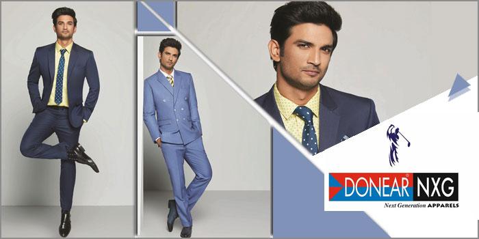 DONEAR NXG Ropes Sushant Singh Rajput as Brand Ambassador