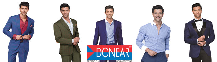 Donear - A Name to Reckon with Quality Suitings & Apparels